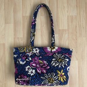 Vera Bradley African Violet Handbag Tote EUC